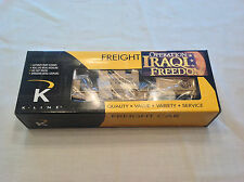 K-Line #K661-8018  Operation Iraqi Freedom Security Rail Car C-9 Condition 2003