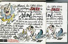 EO COFFRET 2 CD + FOURREAU CARTON + LITHOGRAPHIE SIGNÉE : SINÉ, VIVE LE JAZZ
