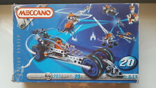 MECCANO MOTION SYSTEM 6520 MODEL 20 INCOMPLETE SEE PICTURES -MADE IN FRANCE 1998