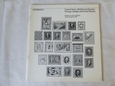 Sotheby'S Stamp Auction Catalogue - Usa,Gb,Foreign - April 1982 New York
