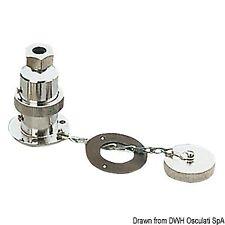 12 Volt Watertight 2 pole Plug& Socket  Marine use Osculati 14.187.02 - 1418702