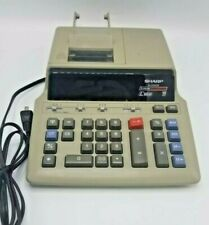 Sharp Electric Calculator EL-2656 GII 2 Color Ribbon Print Desktop Printer