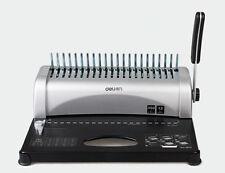 Brand new Comb Binding Machine Manual Punch Apron gib 21 Hole 350 Sheets Binder