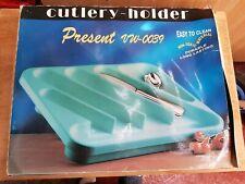 6 Compartment Cutlery Storage Tray Drawer Organiser Holder Kitchen Zepter