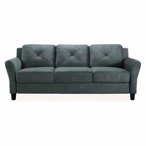Lifestyle Solutions (CCHRFKS3M26DGRA) Sofa - Dark Grey