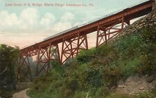 Low Grade Railroad Bridge in Martic Forge Lancaster County PA OLD