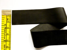 Latex Rubber Stripping 0.20mm Thick, 25mm Wide, Black