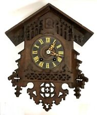 More details for antique carved gothic cuckoo clock for restoration / spares repair : ghs ?