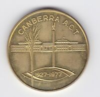 1927-1977 50th Parliament House Token Canberra ACT H-749