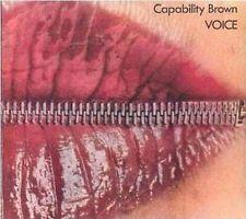 capability brown - voice  - digipak CD