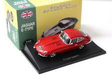 1:43 atlas by norev Jaguar E-Type red Classic Cars New en Premium-modelcars