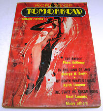 Worlds of Tomorrow - US Digest - Issue 24 - 1970 - Anthony, Laumer, etc.