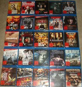 Blu Ray Paket Sammlung über 30 Filme FSK 18 NEU (2)