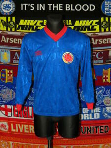 4.5/5 Colombia adults S 1990's away football shirt jersey trikot soccer