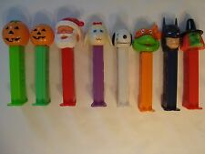 8 VINTAGE PEZ DISPENSERS COLLECTION Assorted
