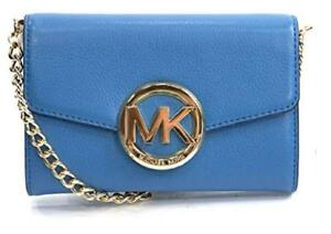 Michael Kors Leather Hudson Large Leather Phone Case /Clutch / Crossbody NWT