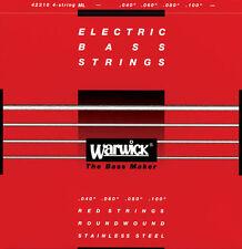 WARWICK Red Label ML 40/100 - Muta per basso 4 corde