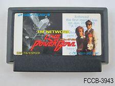 TM Network Live in Power Bowl Famicom Japanese Import FC NES Japan B/Good