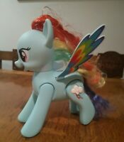 My Little Pony Back flipping Rainbow Dash Children's Toy with Sounds