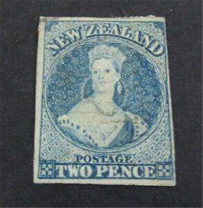 nystamps British New Zealand Stamp # 12 Used $105   U11y2164