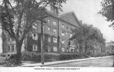 Cambridge, Ma Massachusetts Perkins Hall~Harvard University B&W Postcard