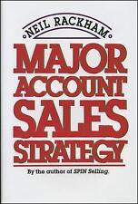 Major Account Sales Strategy by Neil Rackham (Paperback, 1989)