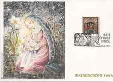 SOS Kinderdorf Christkindl-Weihnachtsbeleg 1994, Sonderstempel