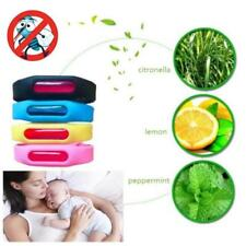 Waterproof Anti Mosquito Pest Insect Bugs Repellent Repeller Wristband Bracelet