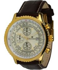 Pionier Uhren Modell Munich Herrenuhr  Quarz-Chronograph Datum Stoppuhr