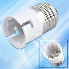 e27 to b22 socket led light bulb lamp holder adapter plug extender lampholder 7