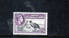 British Solomon Islands KGVI 1939 sg71 2/6    - MH