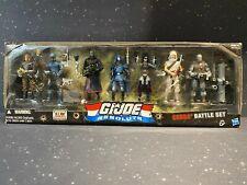 2010 GI Joe Resolute 7-pack Cobra Battle Set c-7 Sealed