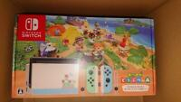 Empty Outer Box Nintendo Switch Animal Crossing New Horizons Edition - Japanese