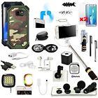 19 in 1 Accessory Case Lens Monopod Speaker USB Fan For Samsung Galaxy S7 Edge
