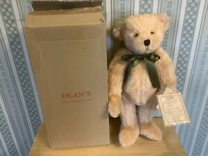 Deans Rag Book Apricot Mohair Bear Leo Limited Edition