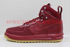 Nike Lunar Force 1 Duckboot Team Red Gum Light Brown Size 12 New 805899 600
