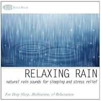 Calming Rain - Nature Sounds for Meditation Relaxation, Sleep White Noise NEW CD