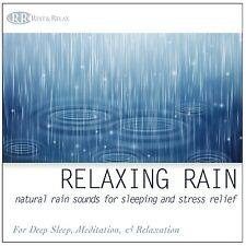 Restful Rain: Relaxing Rain Sounds for Relaxation NO MUSIC - New Unopened CD