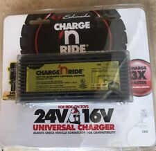 Schumacher Cr-2 Charge 'n Ride 1.5 Amp 24 / 16 Volt Universal Battery Charger