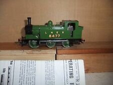 Hornby R.252 LNER Green Class J83 Locomotive 8477, boxed with instructions