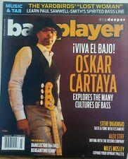 Bass Player Mar 2017 Oskar Cartaya Viva El Bajo Explore Culture FREE SHIPPING sb
