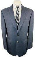 Ralph Lauren Mens 42R Gray Houndstooth Wool Blazer Sport Coat Suit Jacket