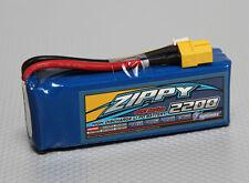 Zippy Flightmax 2200mAh 3S 11.1V 40C 50C Lipo Battery RC XT60 XT-60 Plane Heli