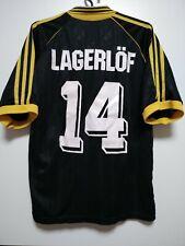 SIZE M AIK Stockholm 1998-2000 Home Football Shirt Jersey Lagerlof #14
