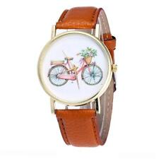 LADIES TRADITIONAL BIKE WATCH - GUARANTEED + SPARE BATTERY - FREE UK P&P..CG1167