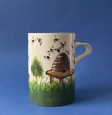 More details for large wemyss ware 'beehive' tankard - griselda hill pottery