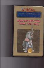 HOW BEST WAS WON 1933-1960 Disney Cartoon Classic LIMITED EDITION GOLD VHS MINT!