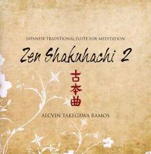 NEW Japanese Traditional Flute For Meditation ; Zen Shakuhachi Vol 2 (Audio CD)