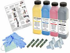 DELL 2150CN - 4 x Kits de recharge toner compatibles Noir, Cyan, Jaune, Magenta