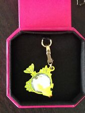 BRAND NEW JUICY COUTURE YELLOW GEM FISH BRACELET CHARM IN TAGGED BOX